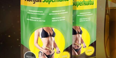 Konjak Superkuitu laihdutusvalmiste nopeaan painonpudotukseen
