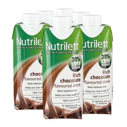 nutrilett rich chocolate drink