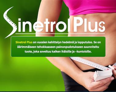 SinetrolPlus rasvanpolttaja nopeaan laihdutukseen